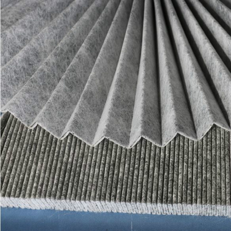 Quality 770gsm Auto Cabin Filter Medium Carbon Cloth
