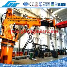 12t @ 21m Marine Crane Hydraulic (GHE-TB614)