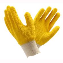 (LG-019) Gants de travail de sécurité protectrice au travail Latex Revêtue