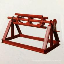 Изготовленный на заказ тяжелый двойной головкой автоматическая гидровлическая стальная катушка 5 тонн крен uncoiler / decoiler с пресс-рукоятка
