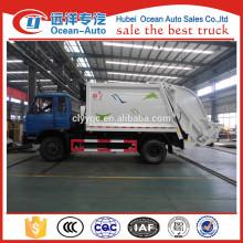 New manual transmission Dongfeng 10cbm garbage trucks