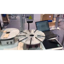 small mini 3d color portable mopa fibre laser raycus metal fiber laser marking machine 20w 30w 50w 100w with rotary