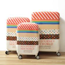 Bedrucktes Muster Trolley Gepäck, Trolley Gepäcktasche, Handgepäck Trolley