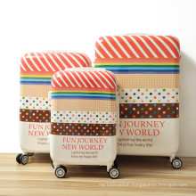 Printed Pattern Trolley Luggage, Trolley Luggage Bag, Hand Luggage Trolley