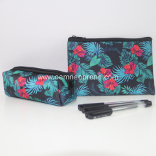 Neoprene Pencil Bags Custom Cosmetic Cases