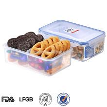 2014 EASYLOCK Kunststoff-Lebensmittelfach Aufbewahrungsbox
