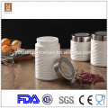 ceramic tea coffee sugar canister set / wholesale tea canisters