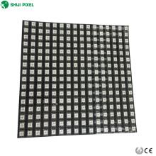 Individualmente endereçável ws2811 ws2812b 5050 RGB flexível painel de led tela matriz 8x8 16x16 8x32 pixels P10