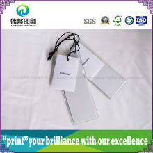 High Quality Paper Printing Hang Tag (2 in 1)