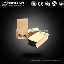 Bolsa de papel de aluminio de alta calidad / bolsa de aluminio con cremallera