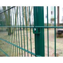 professional factory double wire mesh fence