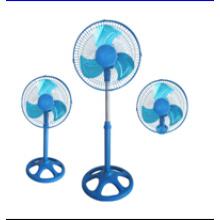 18 ′ ′ Stand Fan (3 IN 1) com 3 Lâmina De Metal