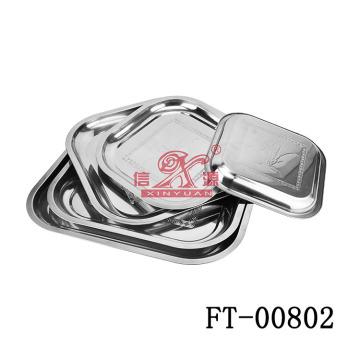 Нержавеющая сталь площади, сервировочная (FT-00802)