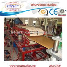 SJSZ-92/188 placa de construção wpc / máquina de produção de placa