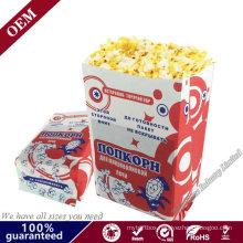 Custom Printing Paper Bag Home Style Pop Secret Microwave Popcorn Package Popcorn Microwave Paper Bag