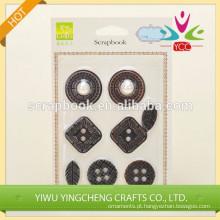adesivo adesivo metálico de alta qualidade 3d