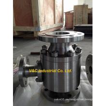 Válvula de recirculación automática de acero al carbono