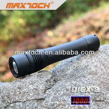 Maxtoch DI6X-2 Cree impermeable buceo T6 LED linterna