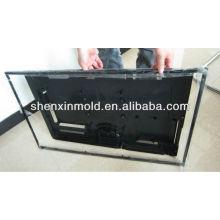 Plastic shell mold for TV set