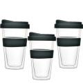 Рекламные жаростойкие стеклянные чашки для воды для продажи