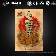 Bolsa de vacío de sellado térmico de impresión de huecograbado de calidad alimentaria