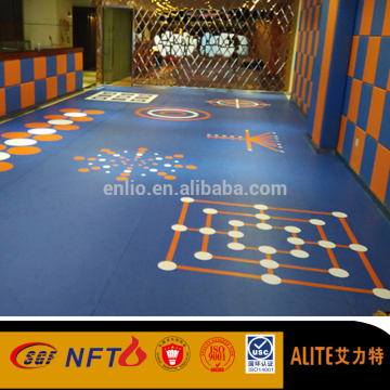 Enlio 3D floor y Gym floor