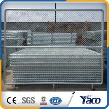 Melhor Preço Galvianzed 2.4mx3m 3.15mm fio de diâmetro Chain Link Fence Panel
