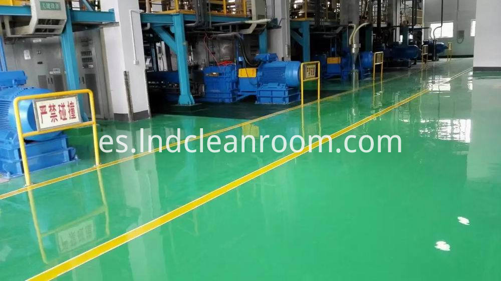Artesian floor paint