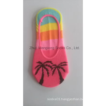 2017 Spring Hot Sale Fashion Lady Low Cut No Show Invisible Liner Socks