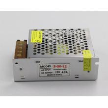 Блок питания для светодиодов 12В 4.2А 50Вт S-50W-12