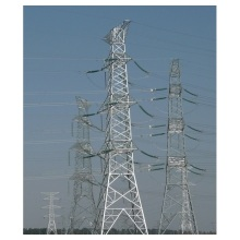 Communication steel transmission tower structure