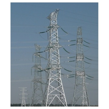 High voltage 220kv transmission line towers