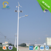 waterproof wind turbine lights solar hybrid street light power led