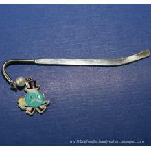 Metal Bookmark with Little Cartoon Badge (GZHY-BM-003)