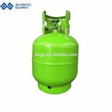 Export nach Bangladesch 9 kg LPG-Gasflasche mit komprimiertem Kochen