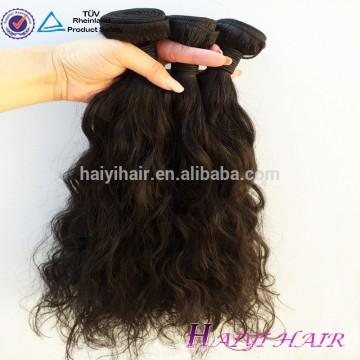 Full Cuticle Un Donateur Non Transformé Livraison Rapide Noir Cheveux Courts Anges Cheveux Weave