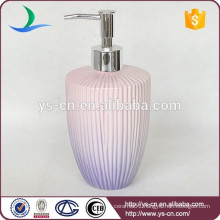 YSb40014-01-ld Hot sale yongsheng ceramic bathroom accessory lotion dispenser