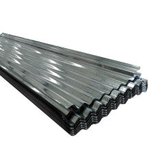 steel structure house wall sheet 1mm thick full hard skin pass galvanized  corrugated curved sheets