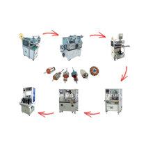 Ligne de production de moteur électrique à rotor rotatif à armature automatique