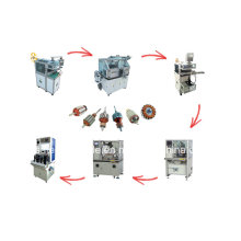 Automatic Armature Winding Machine Rotor Electric Motor Production Line