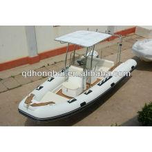 Hot Verkauf Luxus Rib Boot HH-RIB580 mit CE-Kennzeichnung