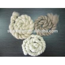 usine en gros 100% pur Cachemire tops blanc / gris clair / brun