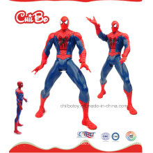 Spider Superman Kunststoff Puppe