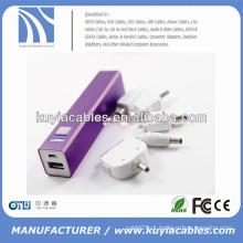 2500mAh USB banco de energia portátil universal pank