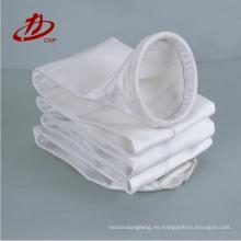 Bolso de filtro de la colección del polvo de la industria del cemento de la tela del nomex del bajo costo