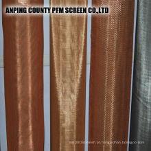 Malha de arame de 200m moles de bronze / bronze de cobre
