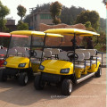 CE certificate factory direct sale Electric 8 seats golf cart