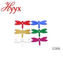 Декоративные HYYX разных размеров новая мода блестками