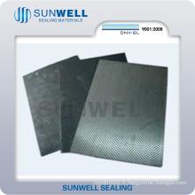 Plaque de graphite-feuille-tendue-étamée
