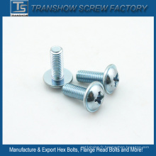 Vis à métaux galvanisées DIN967 de M6 * 20